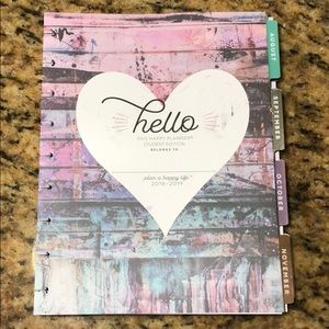 Happy Planner Classic 2018-2019 12 Month Student